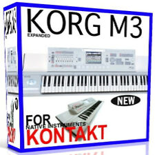 KORG M3 For NI KONTAKT NKI Patches/Presets/Sounds 11 DVD'S 38GB