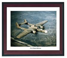 P-61-Black-Widow , Vintage Aircraft Photo Print