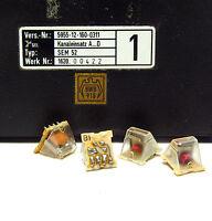 Kanaleinsatz A...D für SEL SEM52 / SEM 52 Funkgerät, Quarz-Set A1 bis D1, NOS