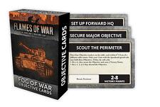 Flames of War BNIB Fog Of War Objective Cards FW007O