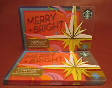 Lot of 11 Starbucks, 2017 Merry Bright Gift Cards New with Tags