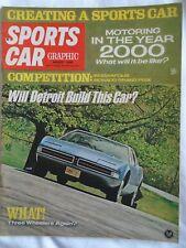Sports Car Graphic Aug 1968 Saab Sonnet V4