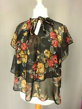 Haut top chemise vintage 80' Made in england Taille FR42 US10 UK14 EUR40