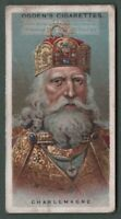 Charlemagne Charles the Great Holy Roman Emperor 90+ Y/O Trade Ad Card