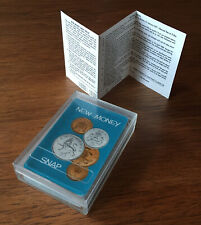Vintage (Late 1960s) Decimalisation Boxed 'New Money Snap' Game