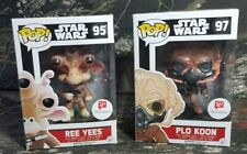 2 Pop Star Wars Plo Koon #97 & Ree Yees #95 Walgreen Exclusive Bobble-Head CK