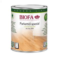 Biofa Parkettöl spezial 2,5 L lösemittelfrei 2059 Reichweite 175 m²