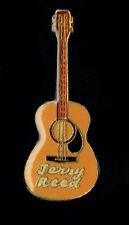 Vintage Enamel Pin 70's 80s Retro Rock & Roll Jerry Reed Guitar Jacket Vest