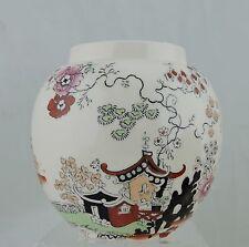 ANTIQUE MASONS IRONSTONE CHINESE OR JAPANESE ASIAN PATTERN JAR/BOWL/VASE ENGLAND