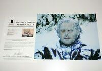 JACK NICHOLSON SIGNED THE SHINING 11x14 MOVIE PHOTO BECKETT COA TORRANCE KUBRICK