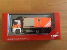 """Herpa, Mercedes-Benz Antos Wechsellader-LKW """"Freiwillige Feuerwehr Norderstedt"""""""