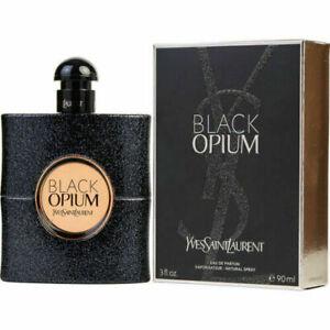 YSL BLACK OPIUM by Yves Saint Laurent EDP PERFUME WOMEN 3 oz NEW SEALED BOX
