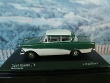 1/43  Minichamps Opel Record P1  1958 1 of 2016