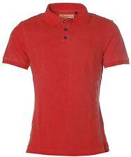 K6785 Signum Herren Kurzarm Shirt T-Shirt Poloshirt Polokragen Pikee Red M