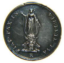 """[NC] MEDAGLIA PIO IX 16 mm  """"Fiat Pax in Virtute Tua"""" (nc2983)"""