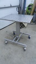 Stainless Steel Hydraulic Lift Table 30 X 36 Top 405 Min 565 Max Height