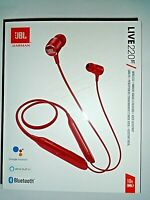 "JBL LIVE 220BT Wireless Headphones Red -  Hands-Free Calls ""NEW"""