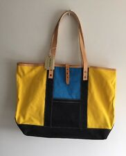 LEVIS MADE AND CRAFTED DUO TOTE CANVAS/DENIM TOTE BAG NEW 100% AUTH RRP £200