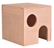 Casa De Hámster de madera para pequeños animales Jerbos & Ratones hámsteres enanos