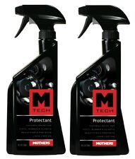 Pack of 2 Mothers 25324 M-Tech Protectant 24 fl. oz. Natural Shine Long Lasting