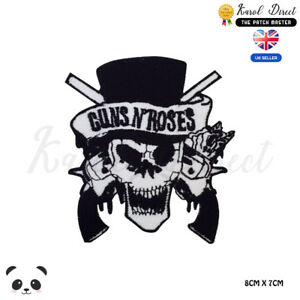Guns N Roses Music Band Embroidered Iron On Sew On PatchBadge For Clothes etc