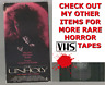 THE UNHOLY Horror VHS VESTRON video Movie Gore Cult Slasher Sex