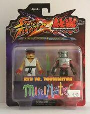 Minimates Street fighter X Tekken Ryu vs. Yoshimitsu