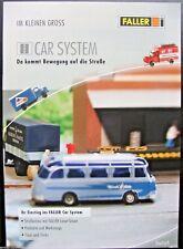 Faller Car System H0 & N, Broschüre Tips und Tricks, deutsch/engl. je 11 Seiten