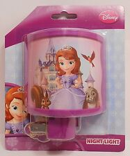 Night Light Disney SOFIA THE FIRST - FRIENDS Curved Child's Room Hallway Bedroom