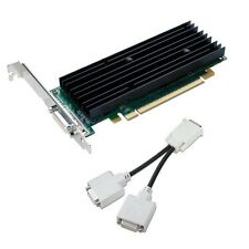 Nvidia Quadro NVS290 PCIe 256MB Dual DVI Low Profile Graphics Card w/ Cable