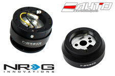 NRG Steering Wheel Short Hub SRK-170H + Black Gen2 Quick Release w/ Ti Chrome b