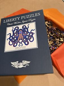 Liberty Wooden Puzzle Octopus  MINT