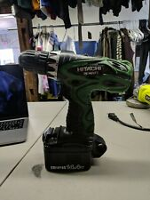 Hitachi Ds 14DVF3 14.4V Drill Hand held with battery