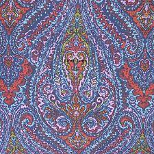 MOROCCAN FLORAL MEDALLION KING COMFORTER SET 3pc NWT STUDIO D Eden COTTON BLUE