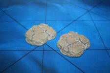 Dwarven Forge Master Maze 2 Large Flat Cavern Rocks - Original