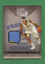 2004-05 Fleer Skybox Fresh Ink Carmelo Anthony Game Worn Patch #30/99