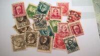 ESPAÑA/1901-38 REPUBLICA ESPAÑOLA LOTE DE 20 SELLOS  VER IMAGEN/