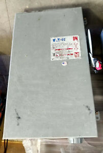 1 USED EATON/CUTLER HAMMER DH364NRK SERIES D SAFETY SWITCH 200AMP **MAKE OFFER**