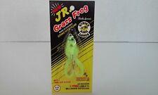 Vintage Strike King JR Grass Frog Chart Frog Topwater Surface Fishing Lure NOS