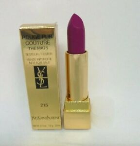 Yves saint laurent rouge pur couture the mats ~ 215 lust for pink ~ 0.13 oz BNIB