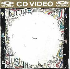 The Cure CD VIDEO Just Like Heaven  rare OOP