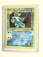 Misty's Golduck - 12/132 - Gym Challenge - Holo SWIRL - Pokemon Card - NM