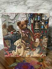 Gallery Series Teddy Bear Workshoppe Snap Together Wooden Puzzle 275 Piece