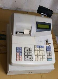 SHARP XE-A102 ELECTRONIC CASH REGISTER TILL