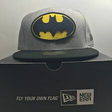 New Era 59Fifty BatMan 7 1/4 Fitted Baseball 5 Cap Free Post
