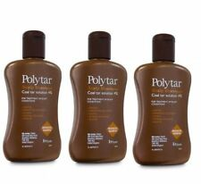 3 Packs -   Polytar  Coal Tar Scalp Shampoo 150ml