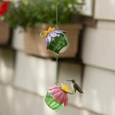 2 Pack Nature's Way Single Purple Flower Hummingbird Feeder Easy Conect Sfhf2
