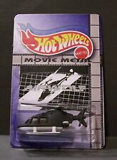"Custom HotWheels CHOPPER and package of  ""Movie Metal""  from AIRWOLF"