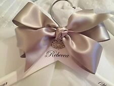 Bridal wedding Hangers, Personalised Luxury Bespoke Coat Hangers, Bridesmaid