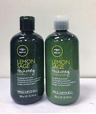 Paul Mitchell Tea Tree Lemon Sage Thickening Shampoo Conditioner 10.14 oz 300ml